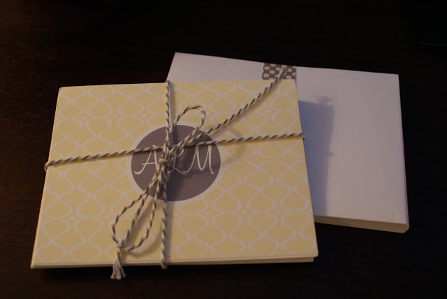Monogram Love (and a giveaway!)