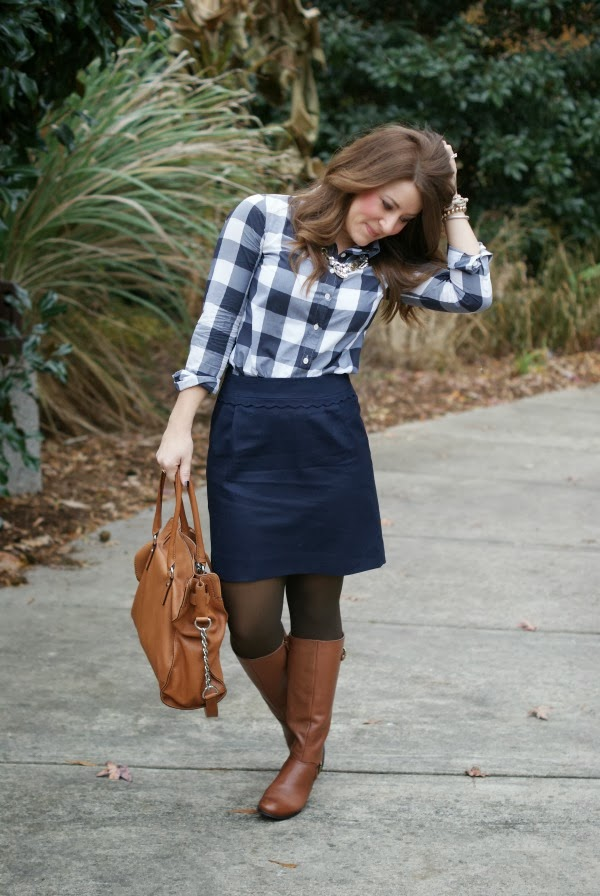 Gingham and a YuniKelley giveaway!