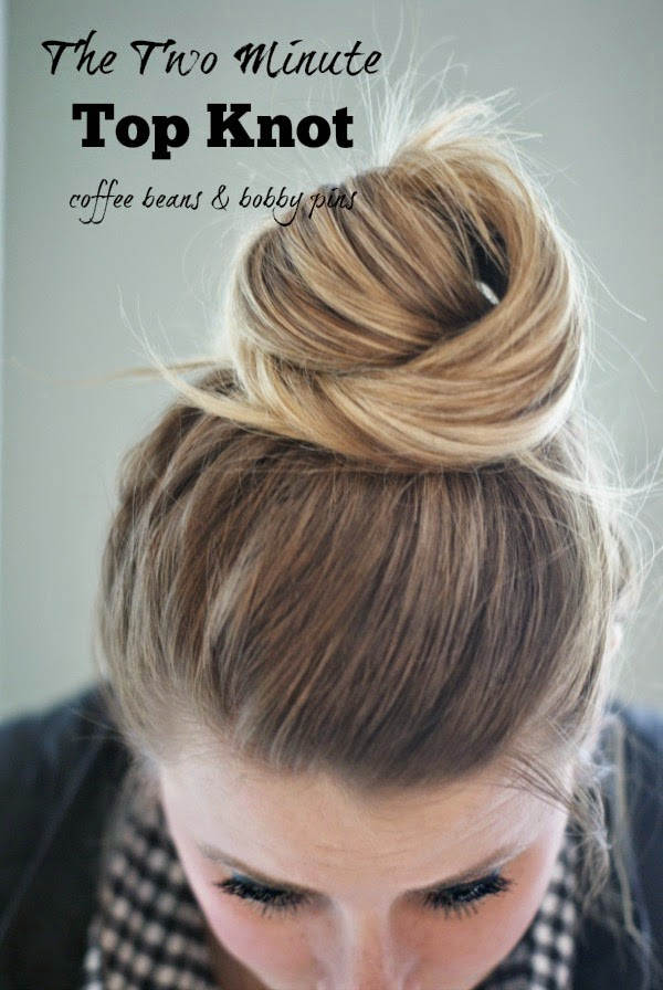 Two-Minute Top Knot Tutorial