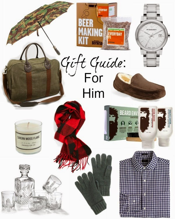 Gift Guide: Him