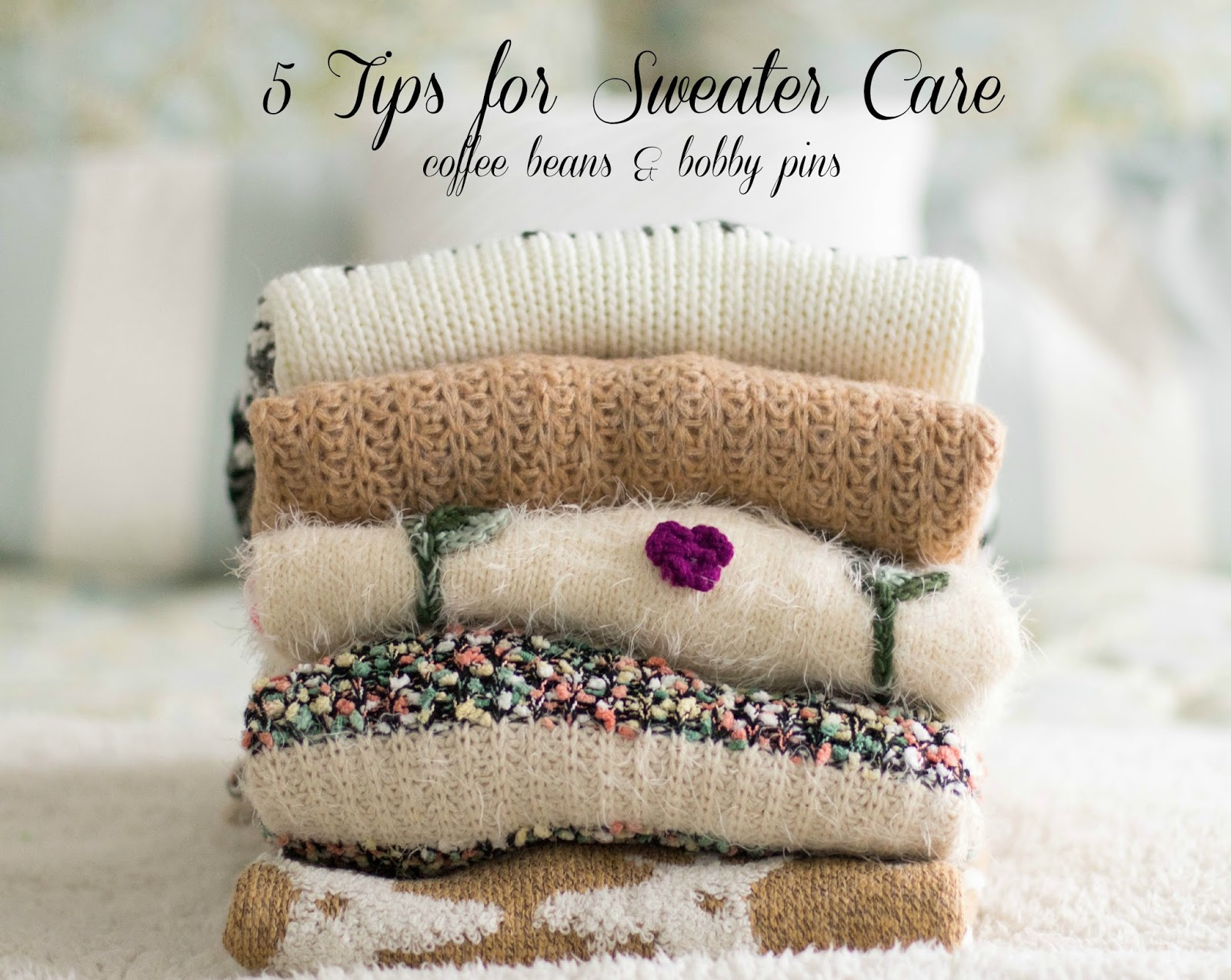 5 Tips for Sweater Care