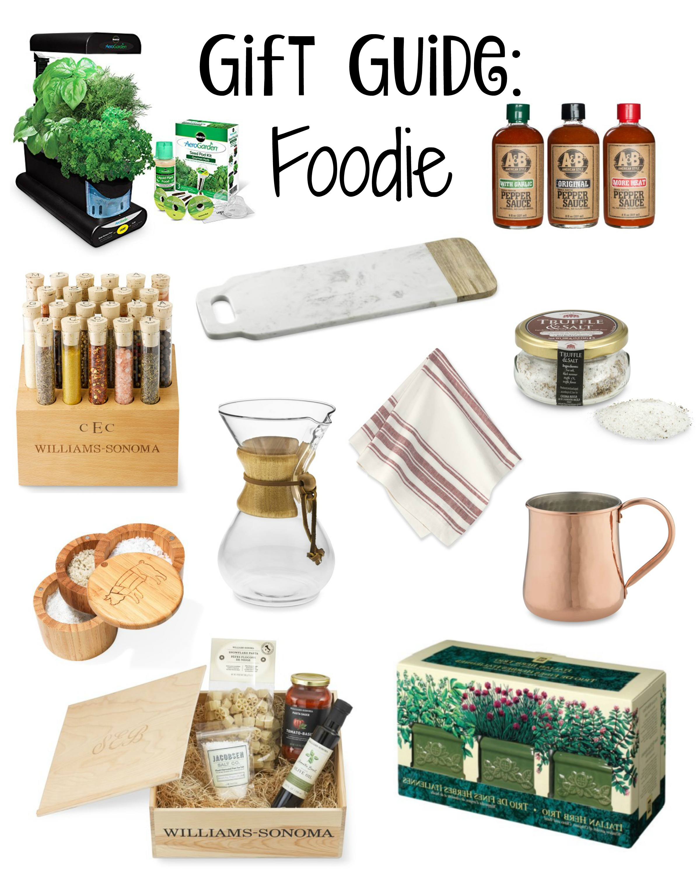 Gift Guide: Foodie