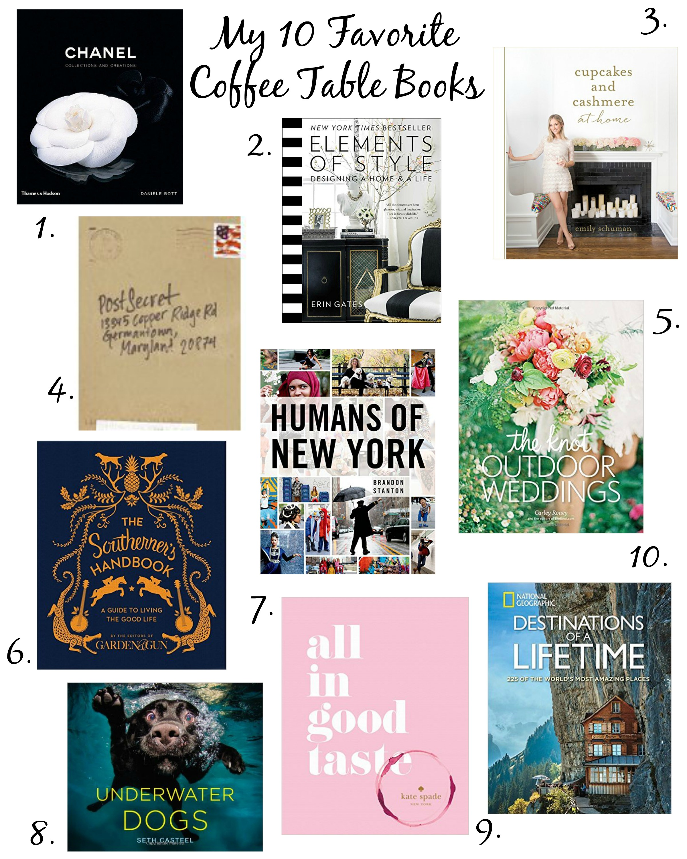 Top 10 Coffee Table Books Life