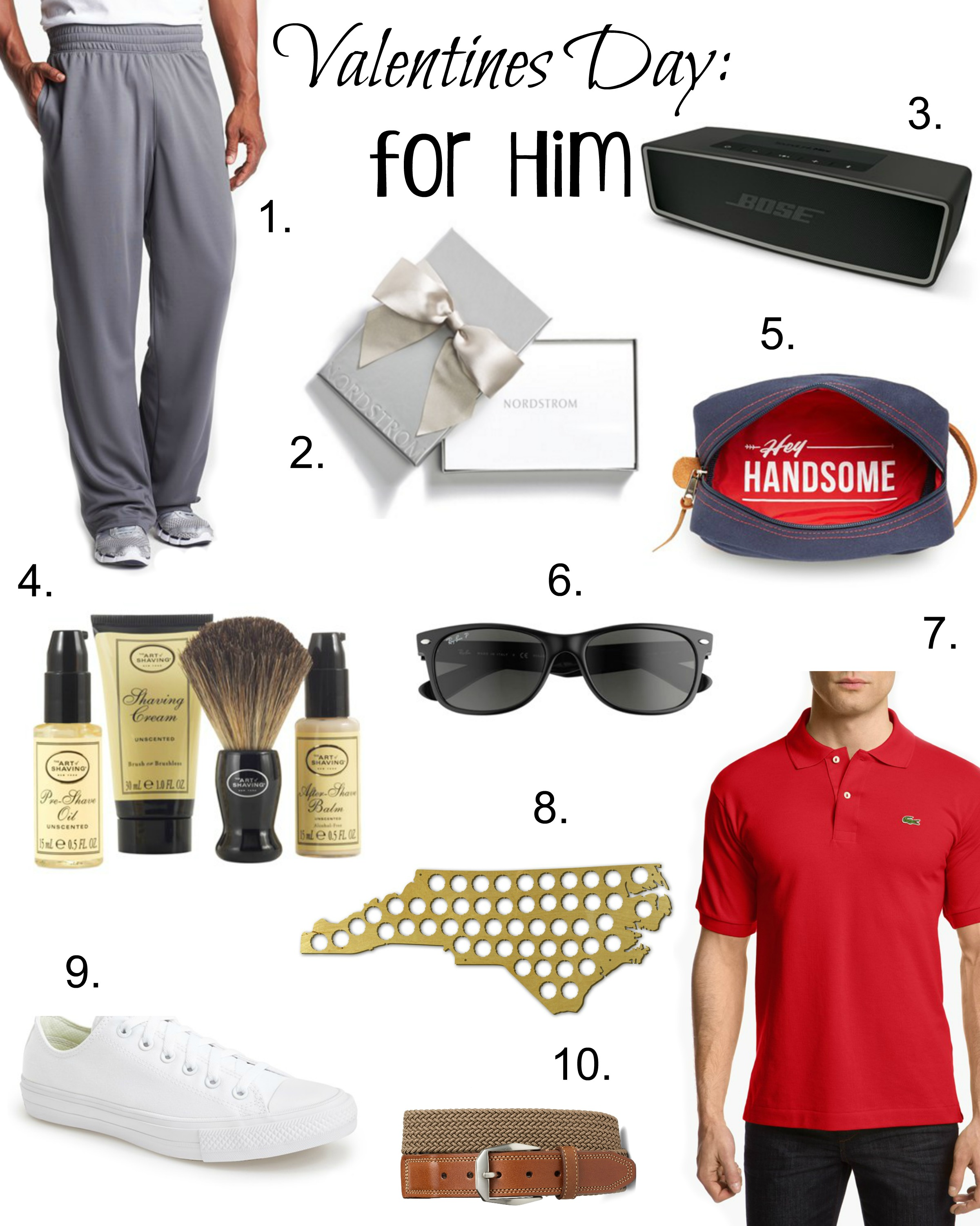 10 valentines day gifts for him coffee beans and bobby pins