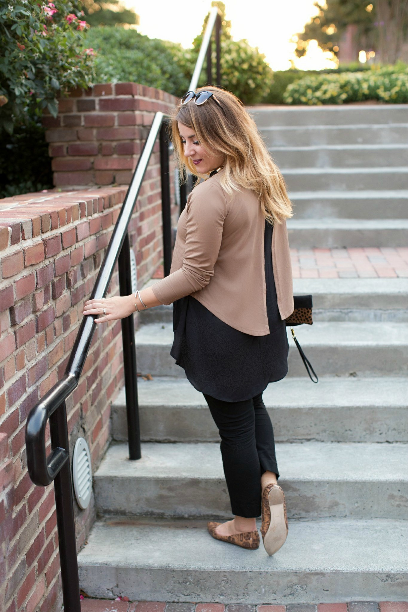 Black and Brown Outfit