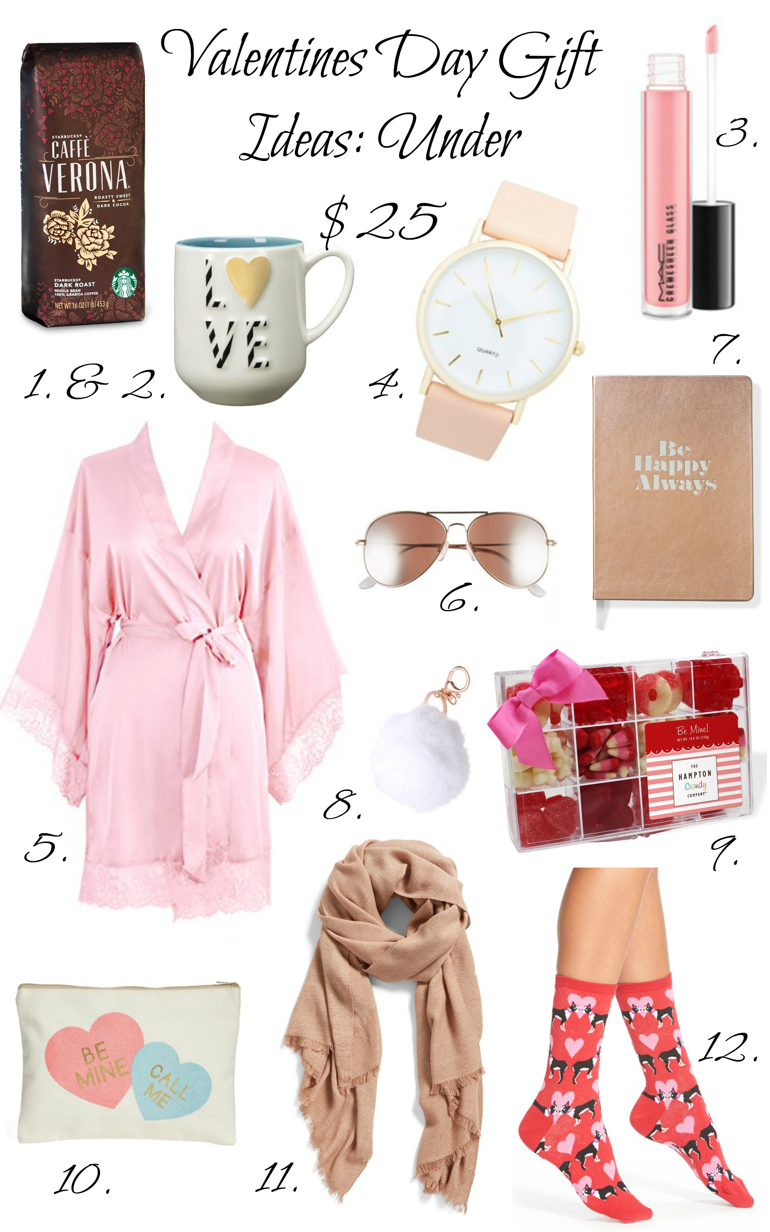 Valentines Day Gift Ideas: Under $25