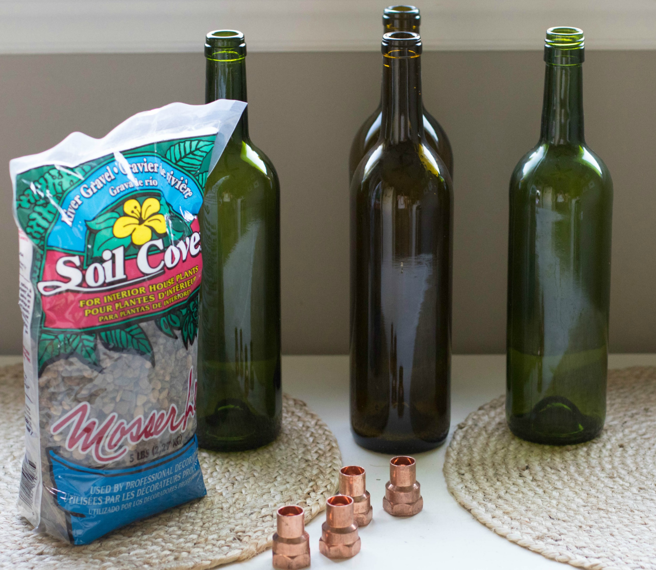 Diy Wine Bottle Tiki Torch By Coffee Blogger Amy Of Beans And Bobby Pins