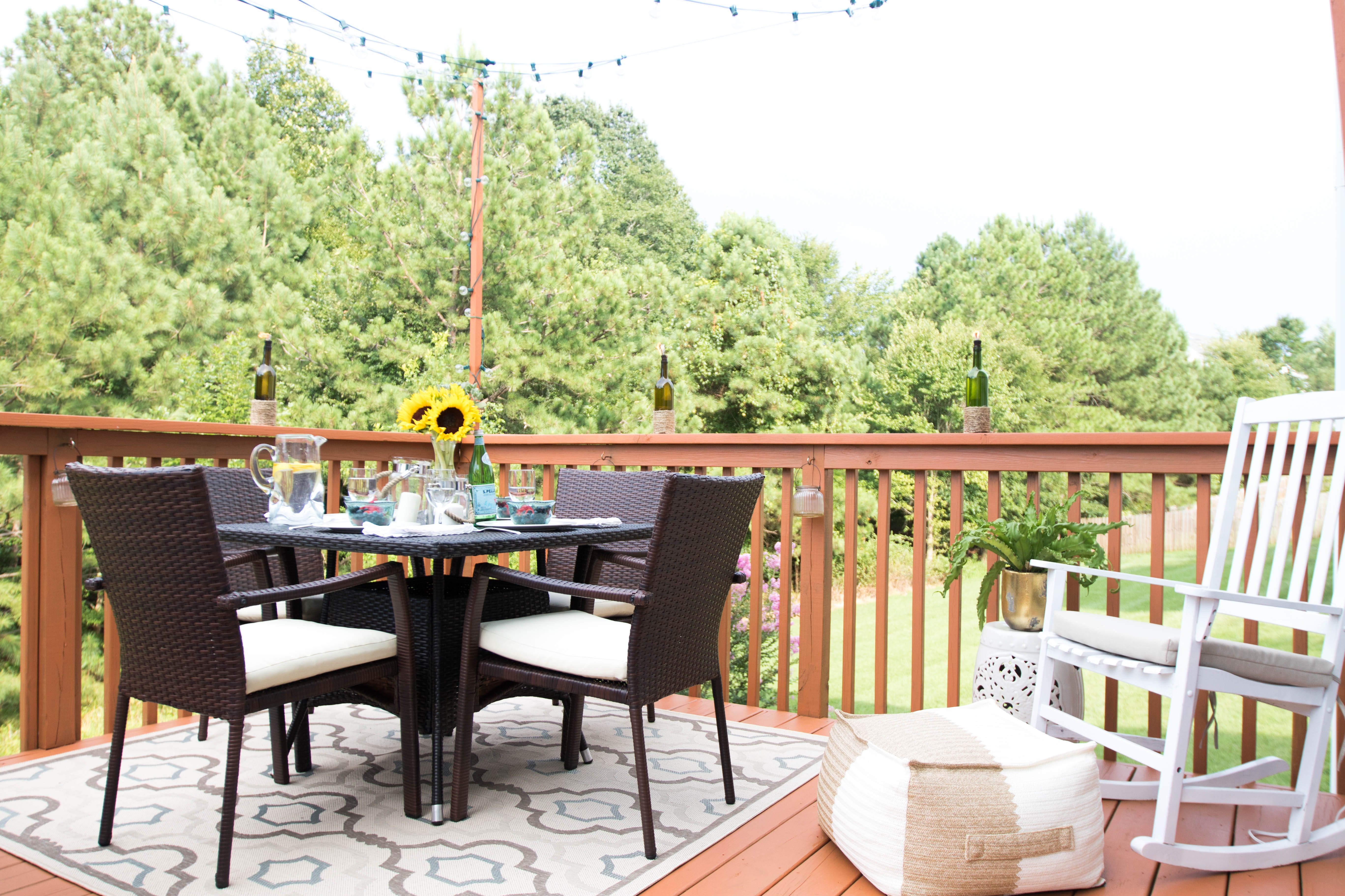 patio reveal with atg stores coffee beans and bobby pins