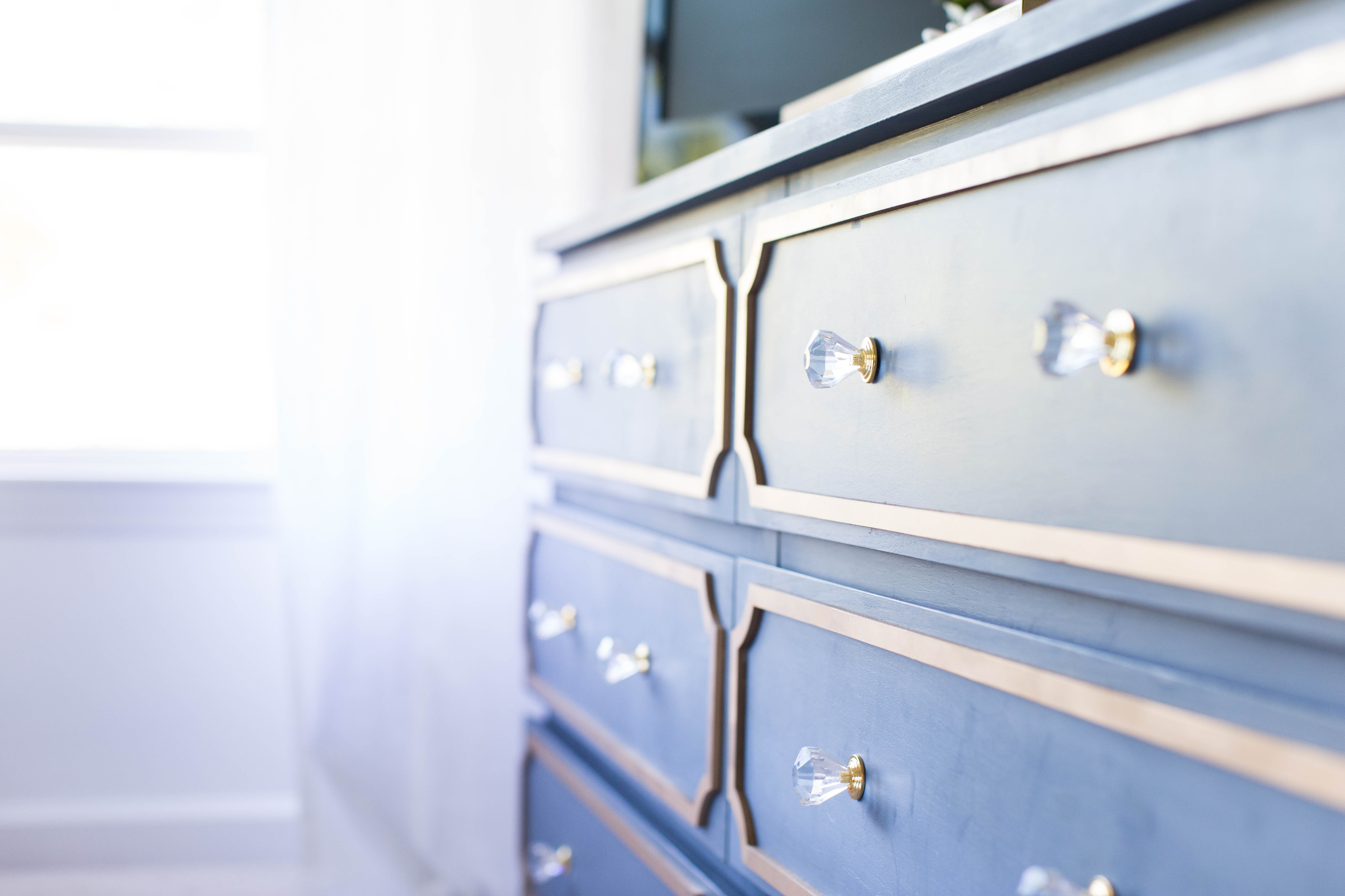 Ikea Dresser Makeover by lifestyle blogger Amy of Coffee Beans and Bobby Pins