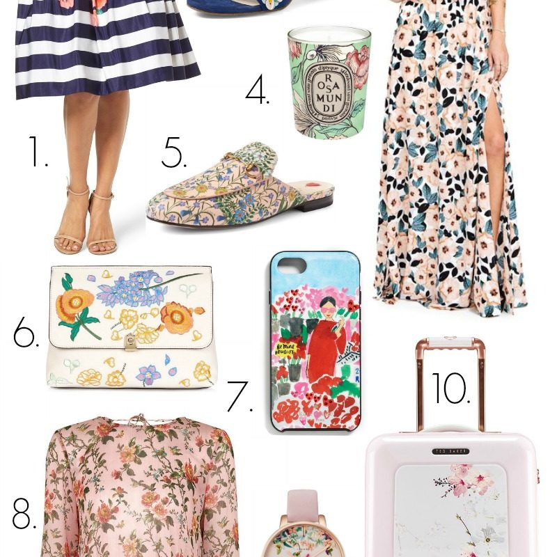 Floral Must Haves for Spring