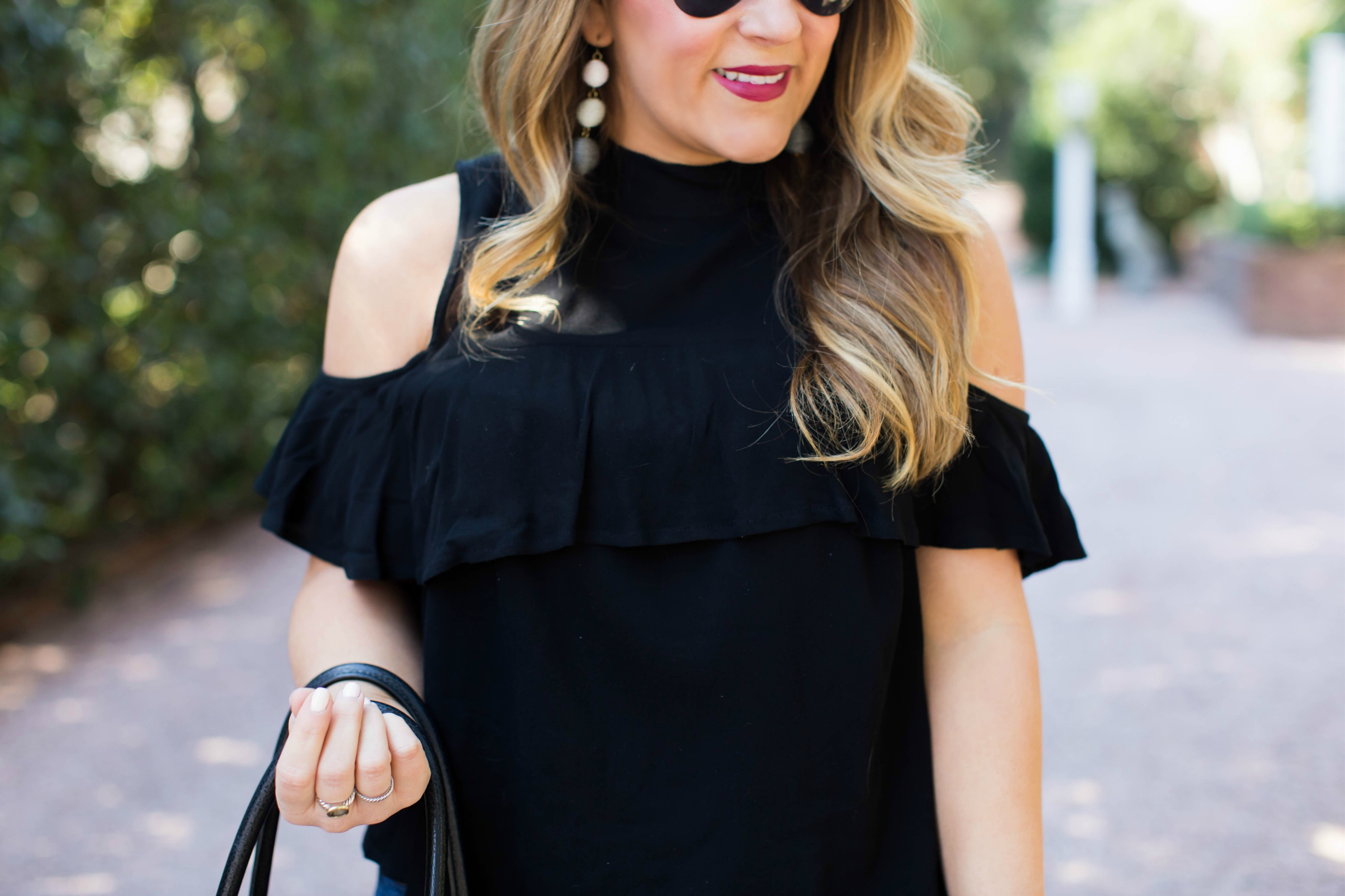 Cold Shoulder Tops and Why You CAN Wear Them | coffeebeansandbobbypins.com