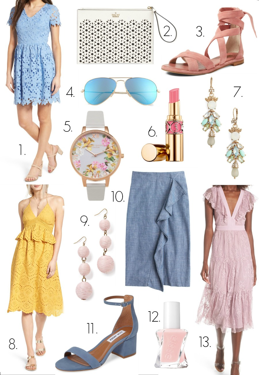 Pastels for Spring | coffeebeansandbobbypins.com