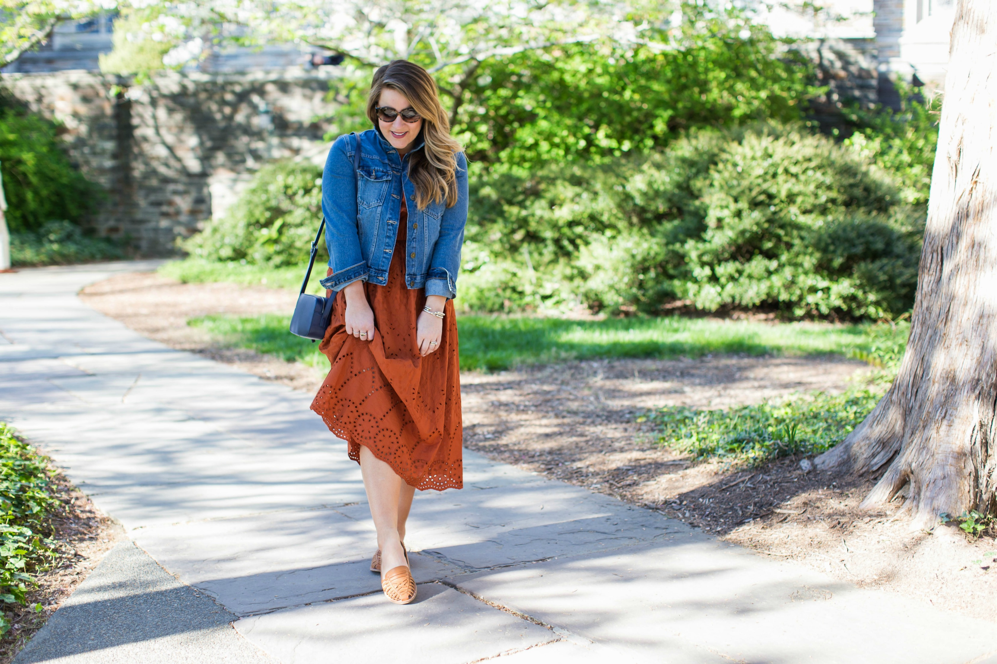 Spring Dress with Marks and Spencer by NC fashion blogger Coffee Beans and Bobby Pins