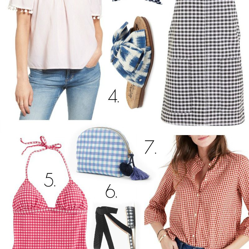 Gingham Picks for Summer