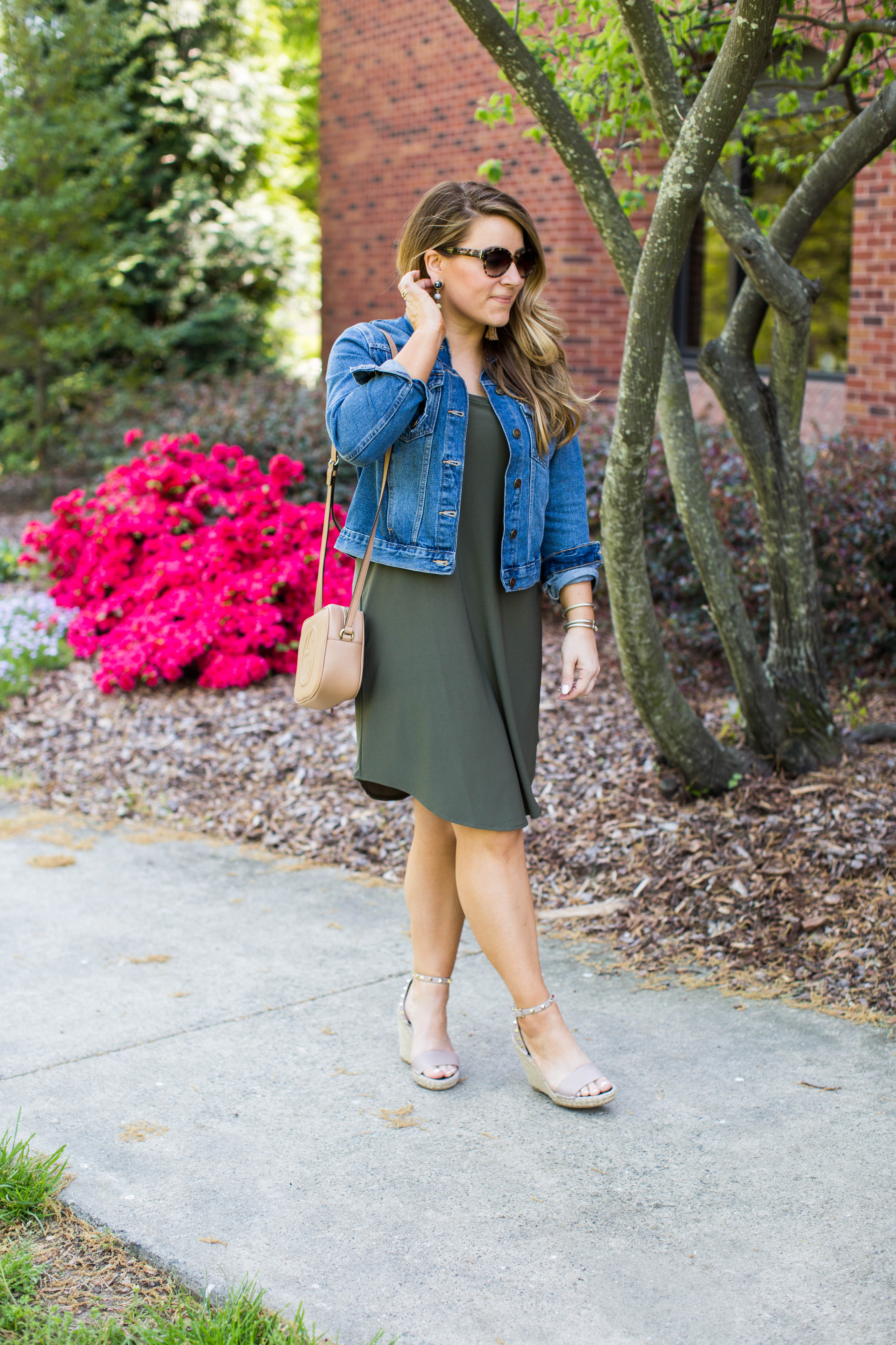 The best Olive Green Dress Under $50, click to shop!