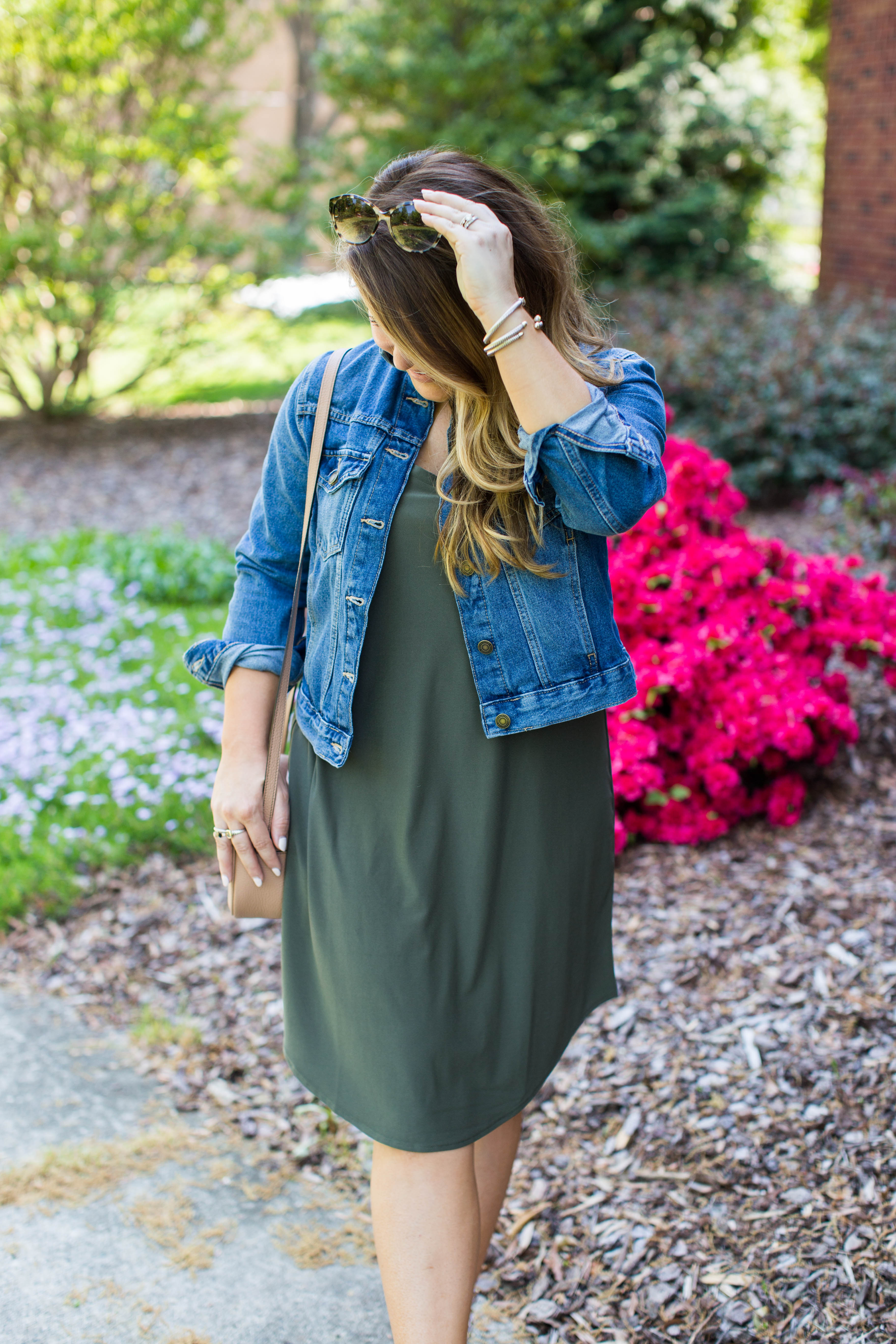 Olive Green Dress Under $50, click to shop!