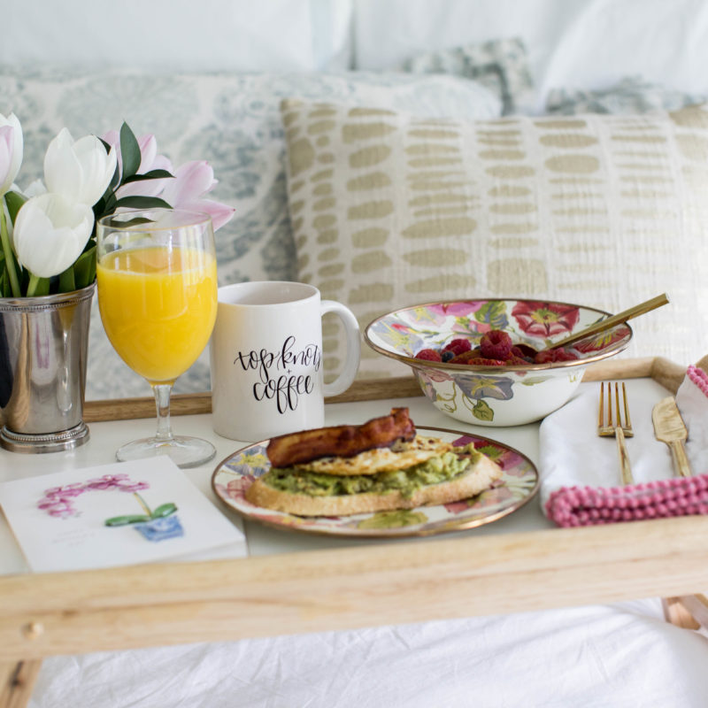How To: Breakfast in Bed for Mom
