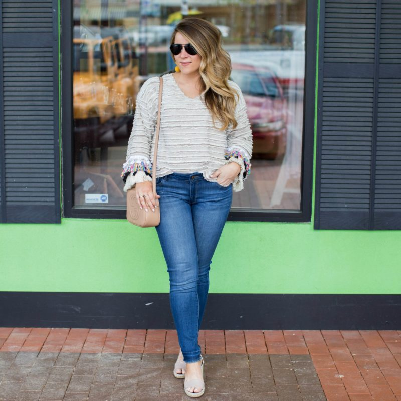 Fringe and Bell Sleeves