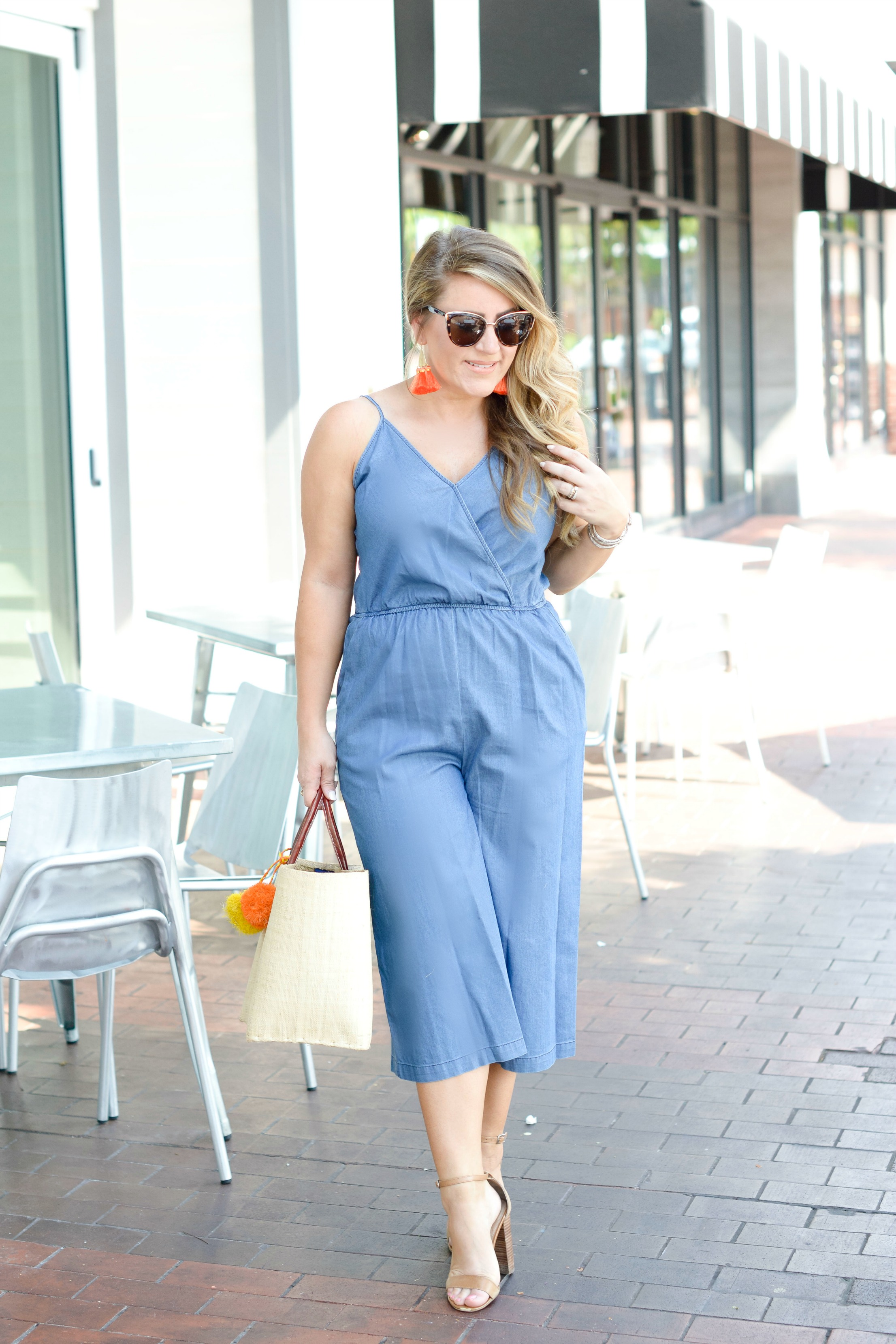All Denim Jumpsuit by NC fashion blogger Amy of Coffee Beans and Bobby Pins