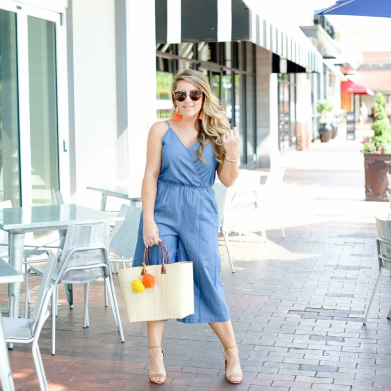 All Denim Jumpsuit