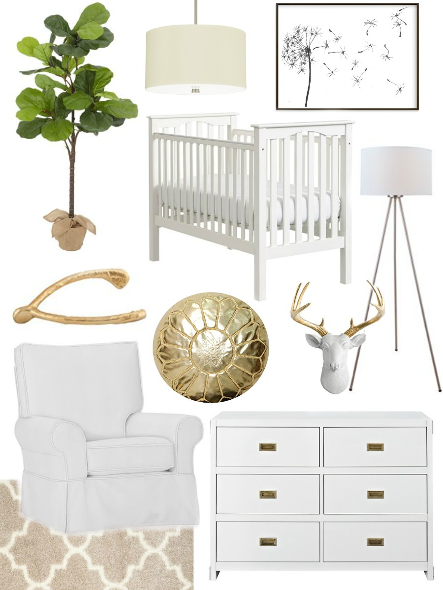 Gender Neutral Nursery Design Ideas by NC lifestyle blogger Coffee Beans and Bobby Pins