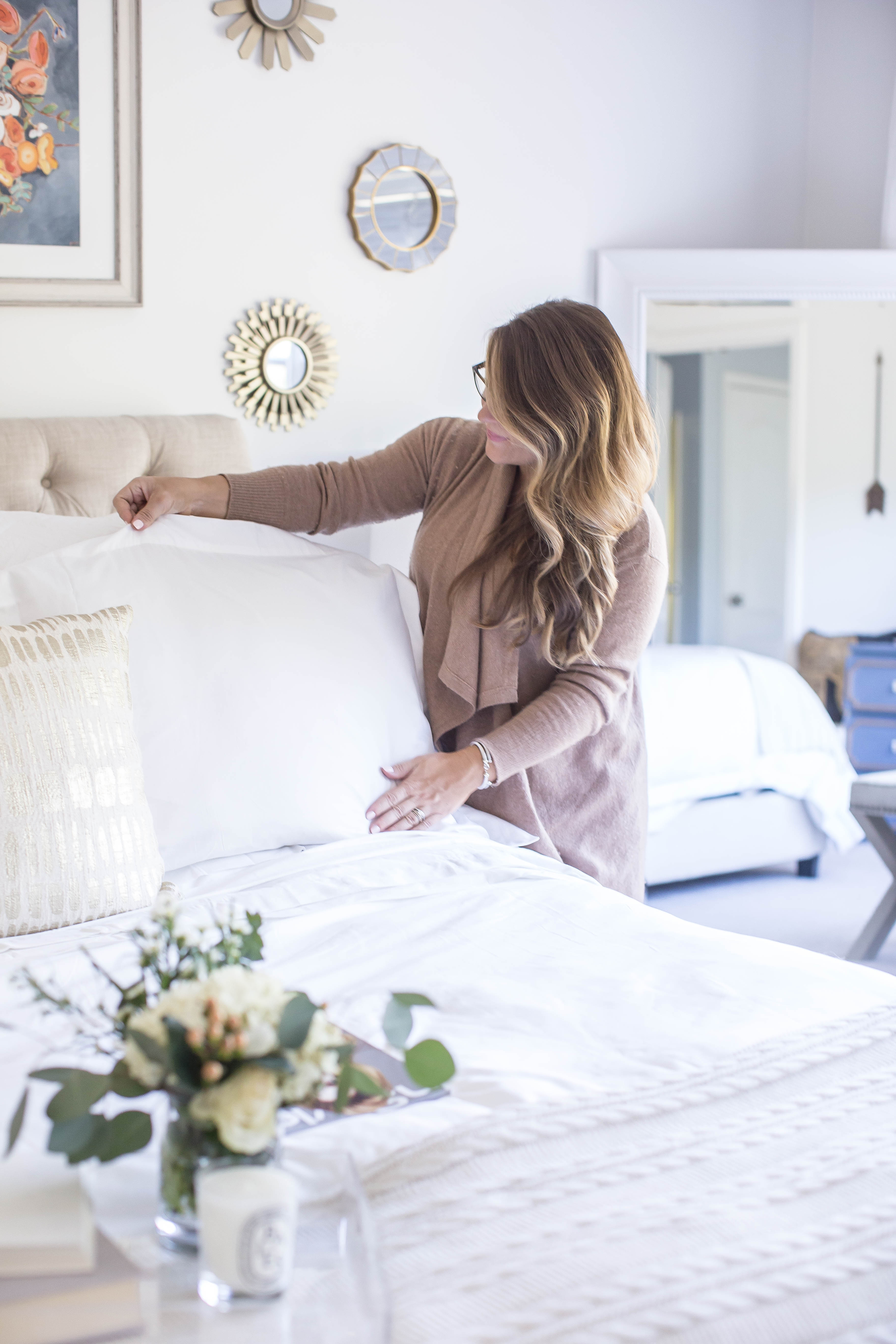 Why Nice Bedding is Worth the Splurge by North Carolina lifestyle blogger Coffee Beans and Bobby Pins