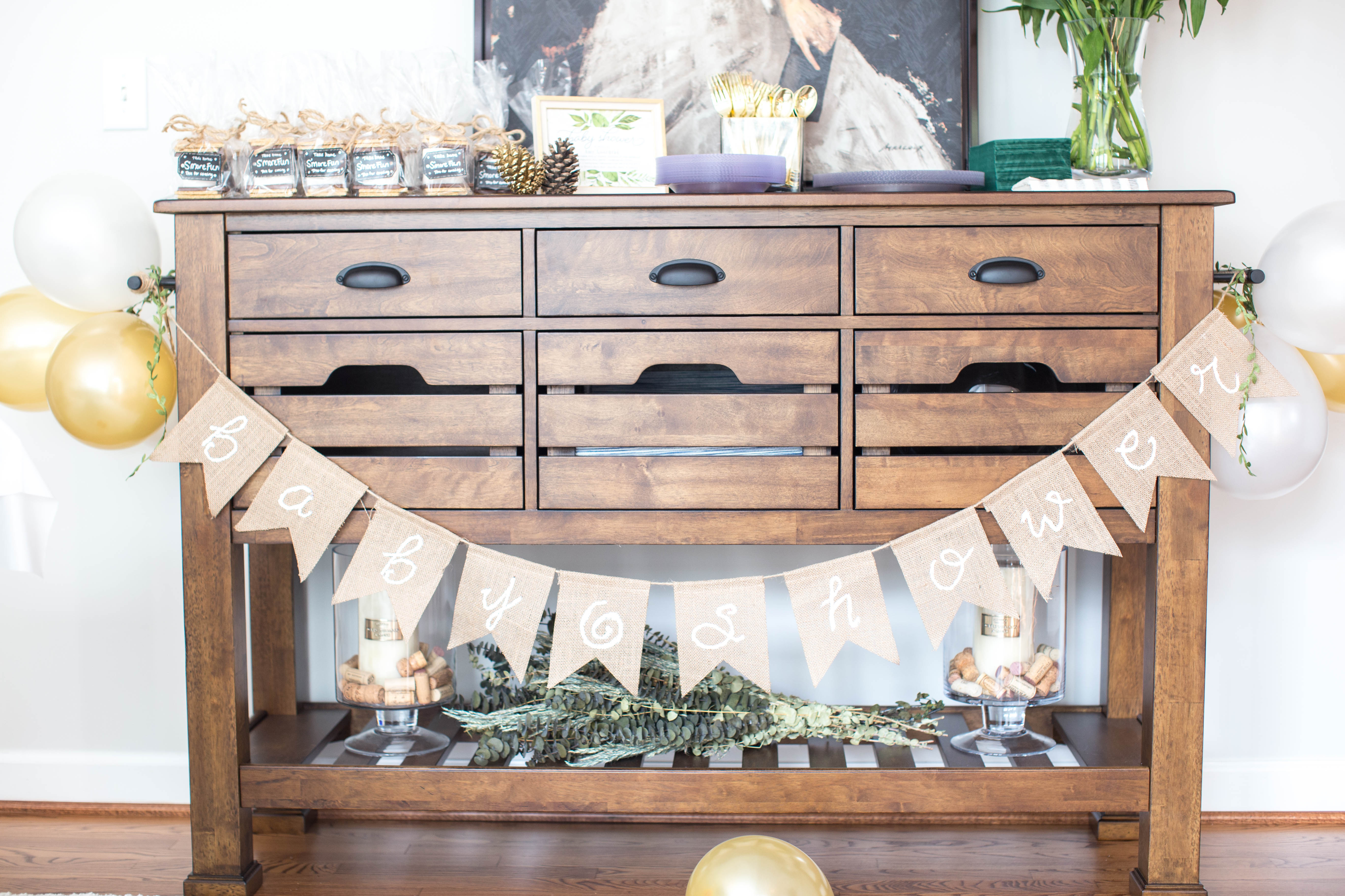Baby Shower Decor - Favorites Lately: Newton Baby Crib Mattress by North Carolina style blogger Coffee Beans and Bobby Pins