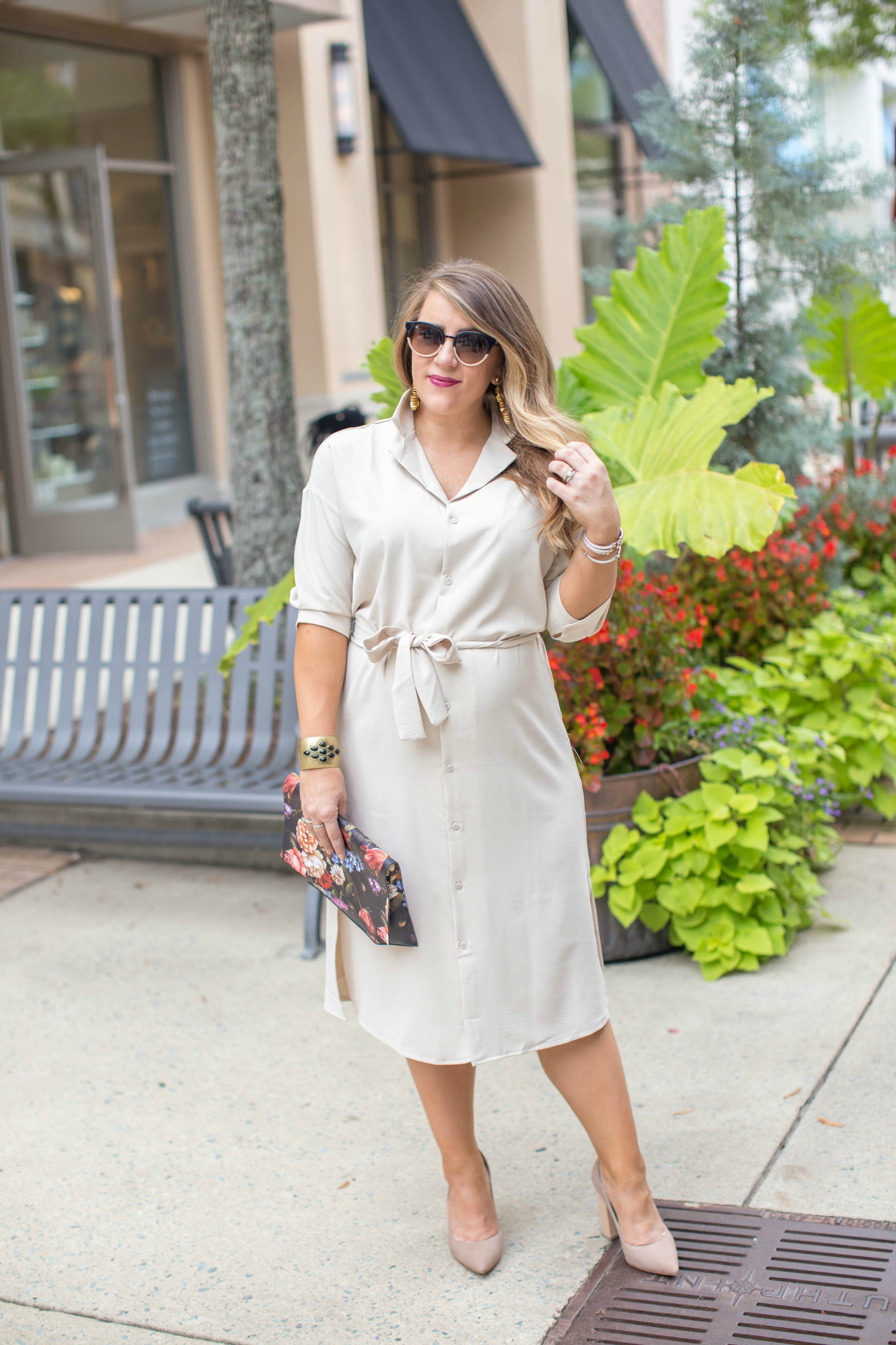 Classic Shirt-dress - Classic Shirt Dress by North Carolina fashion blogger Coffee Beans and Bobby Pins