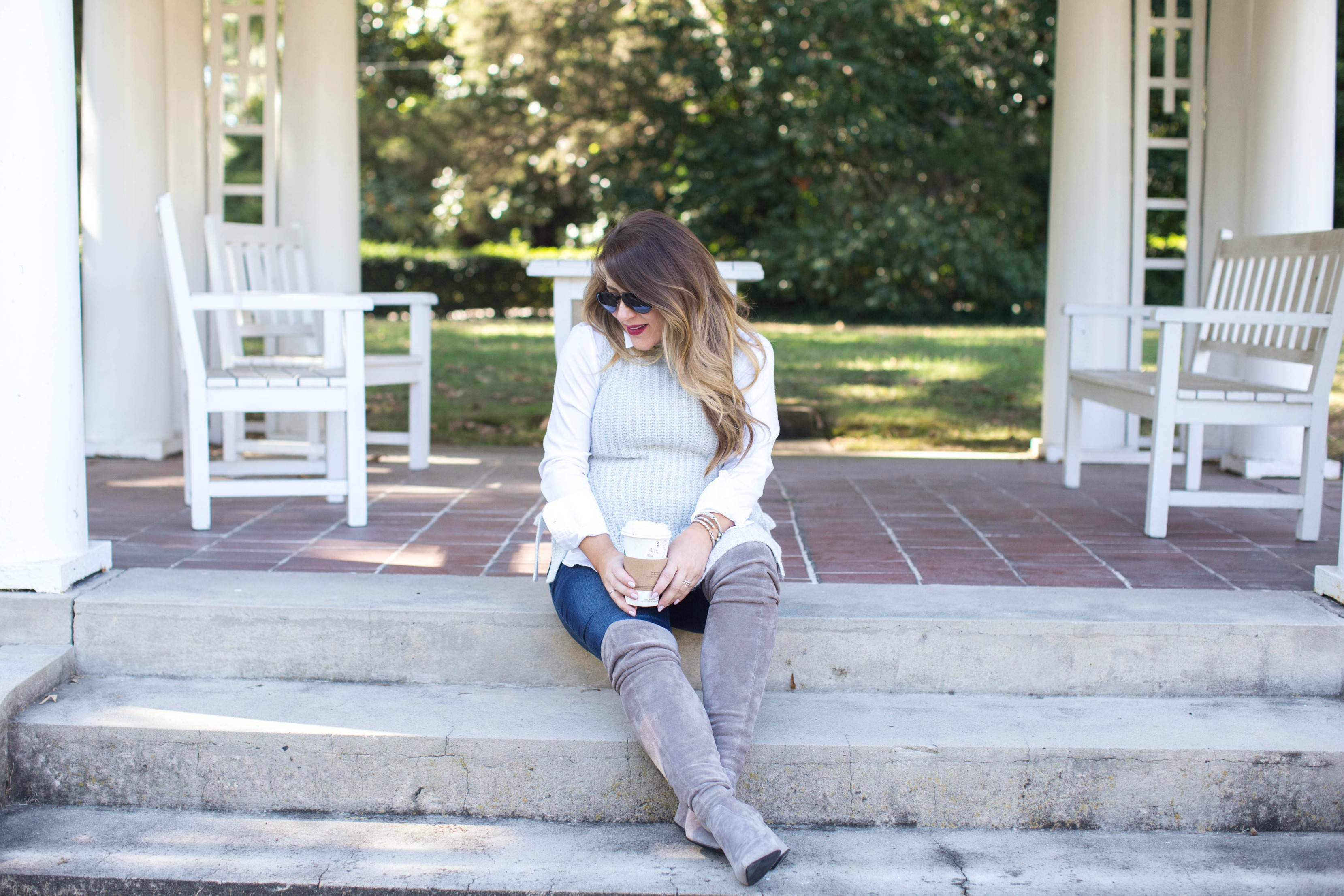 Gray Layers - Fall Fashion: Gray Layers by North Carolina fashion blogger Coffee Beans and Bobby Pins