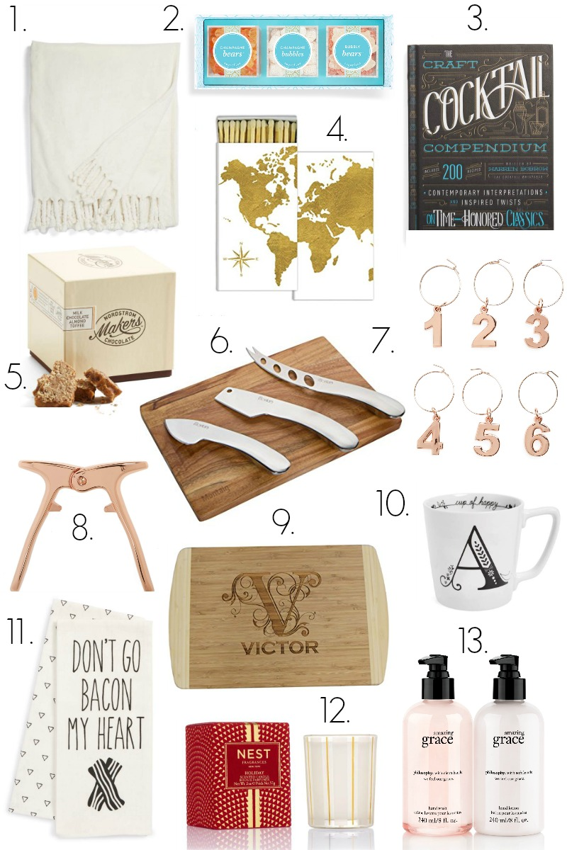 Gift Guide: for the Hostess - Holiday Gift Guide: 13 Gifts for the Hostess by North Carolina lifestyle blogger Coffee Beans and Bobby Pins
