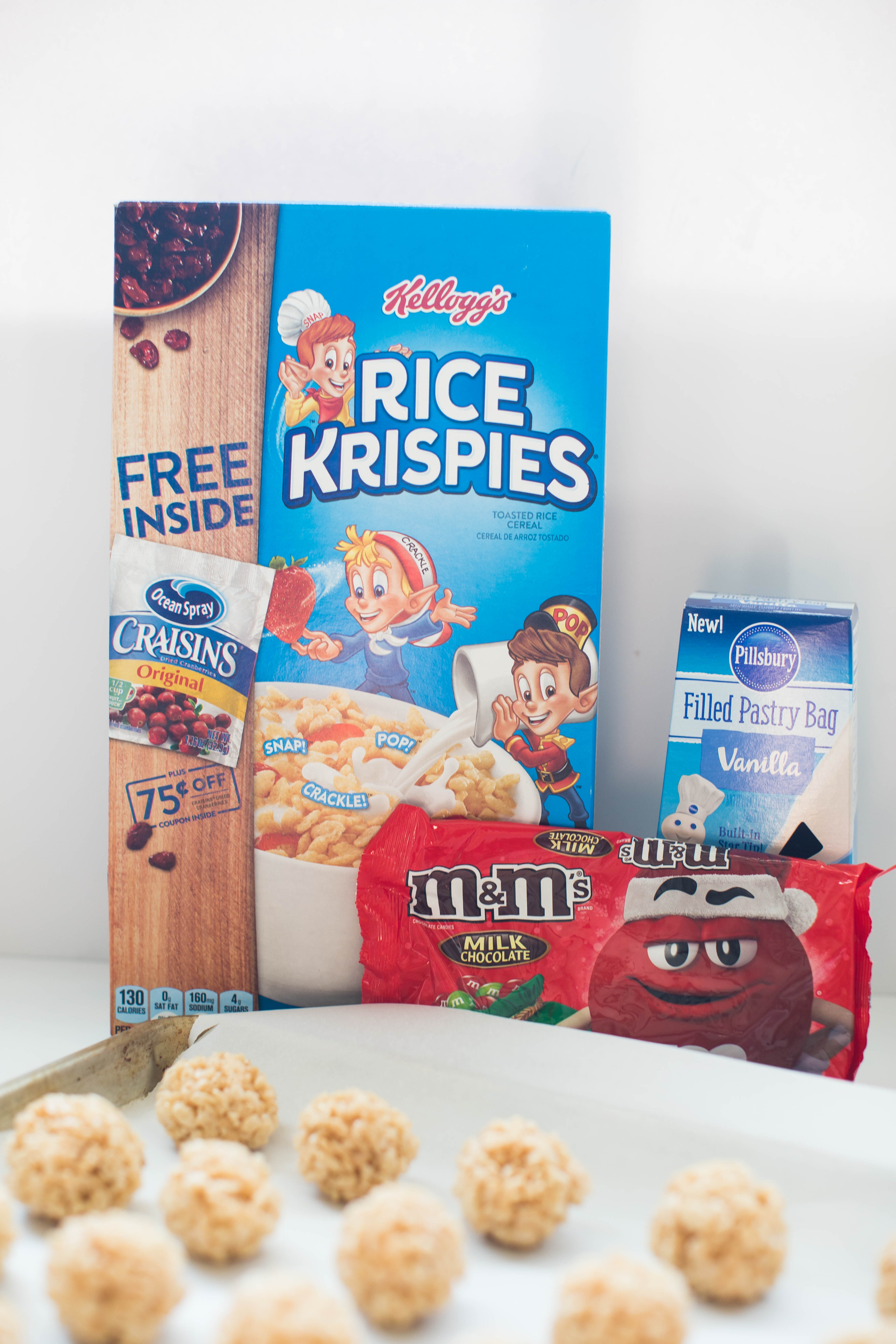 Holiday Rice Krispies® Recipe by North Carolina lifestyle blogger Coffee Beans and Bobby Pins