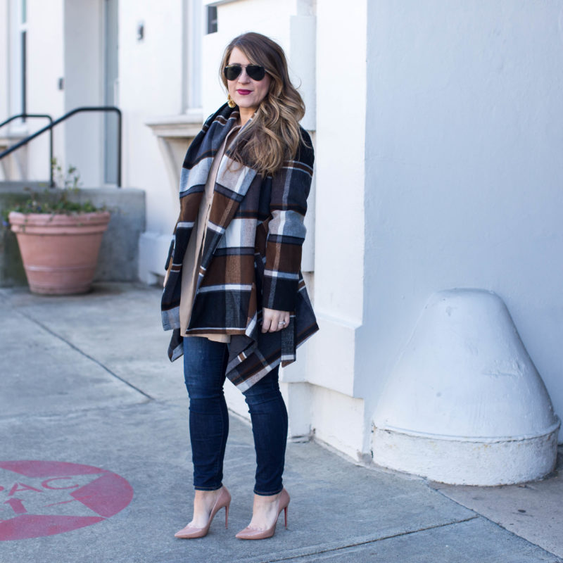 Versatile Plaid Coat & Fitting into Shoes Again