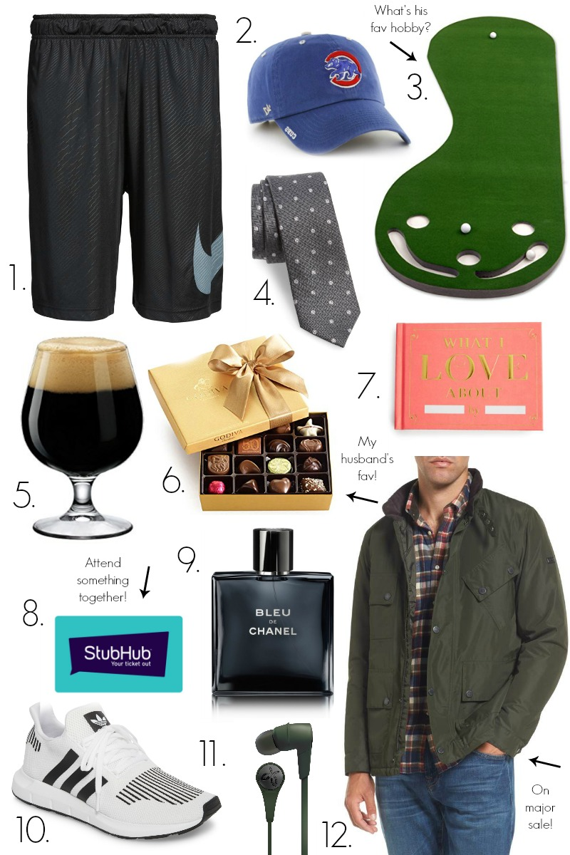 12 Fun Valentines Day Gifts for Him by popular North Caroline lifestyle blogger Coffee Beans and Bobby Pins