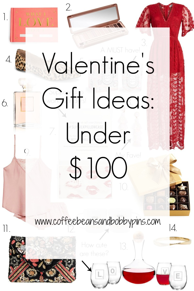Valentines Gift Ideas: Under $100 by popular North Carolina style blogger Coffee Beans and Bobby Pins