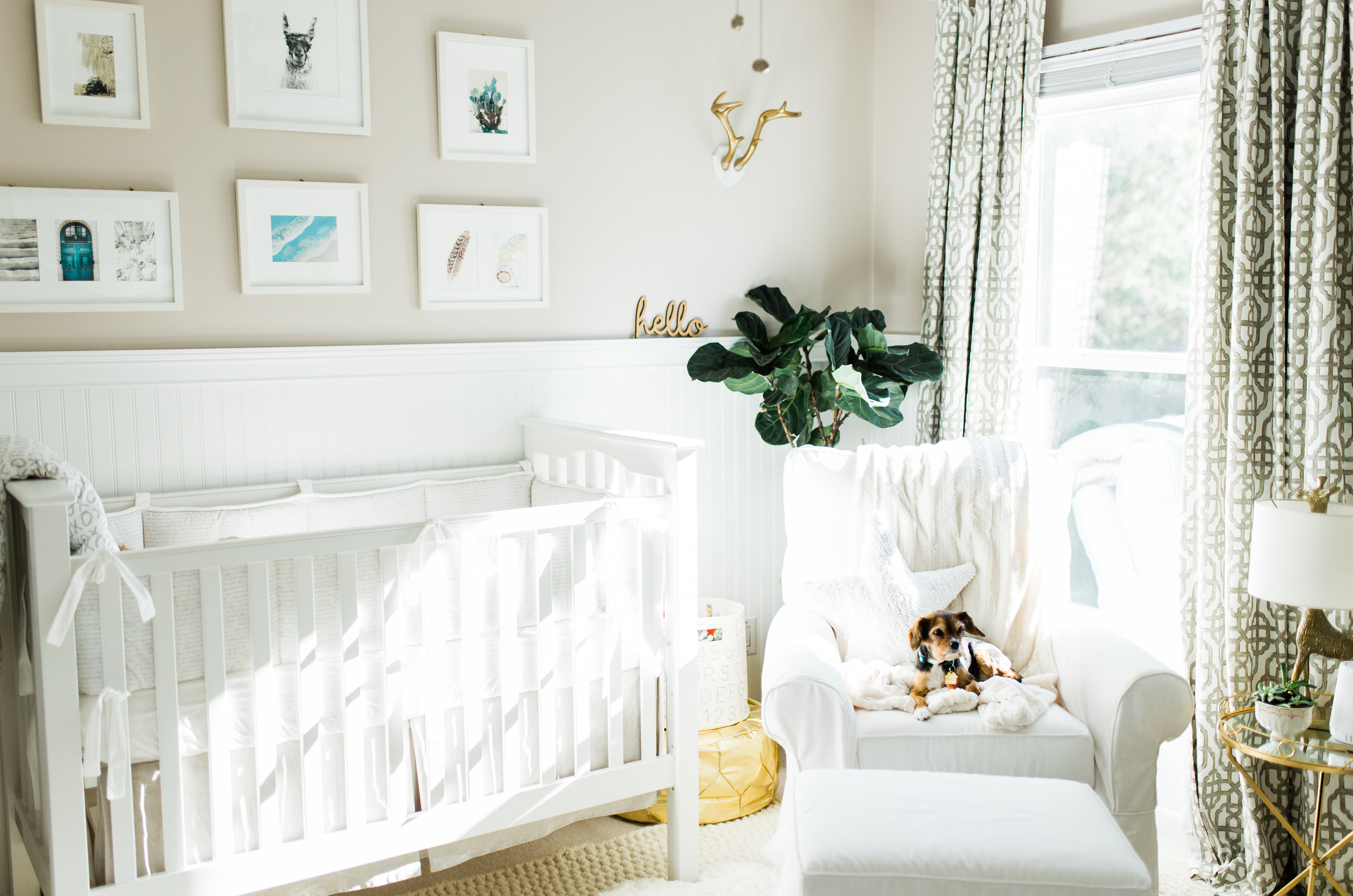 Gender Neutral Nursery By Por North Carolina Lifestyle Blogger And New Mom Coffee Beans Bobby