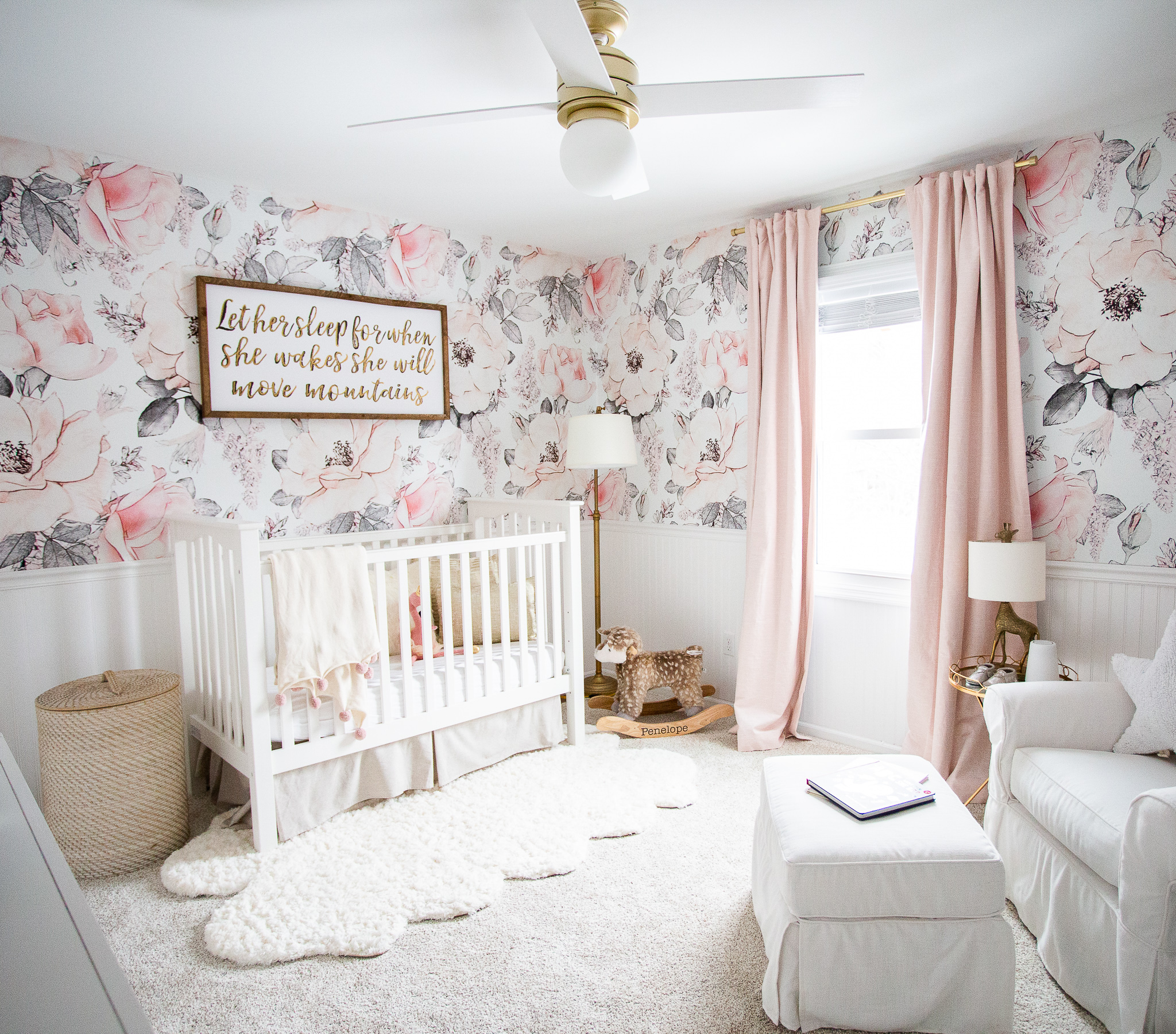 Fl Nursery Ideas Featured By Top Us Life And Style Blog Coffee Beans Bobby Pins