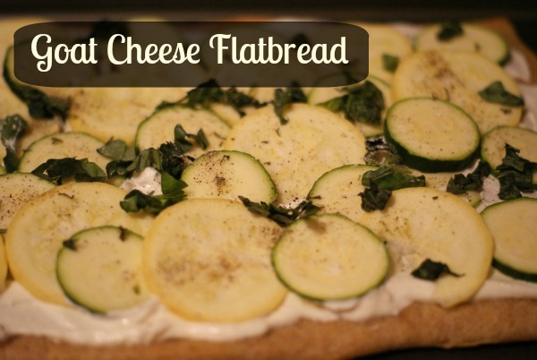 Goat Cheese Flatbread
