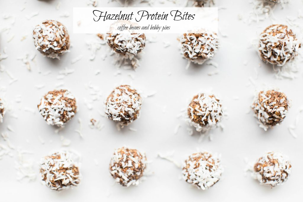 Hazelnut Protein Bites with Babbleboxx