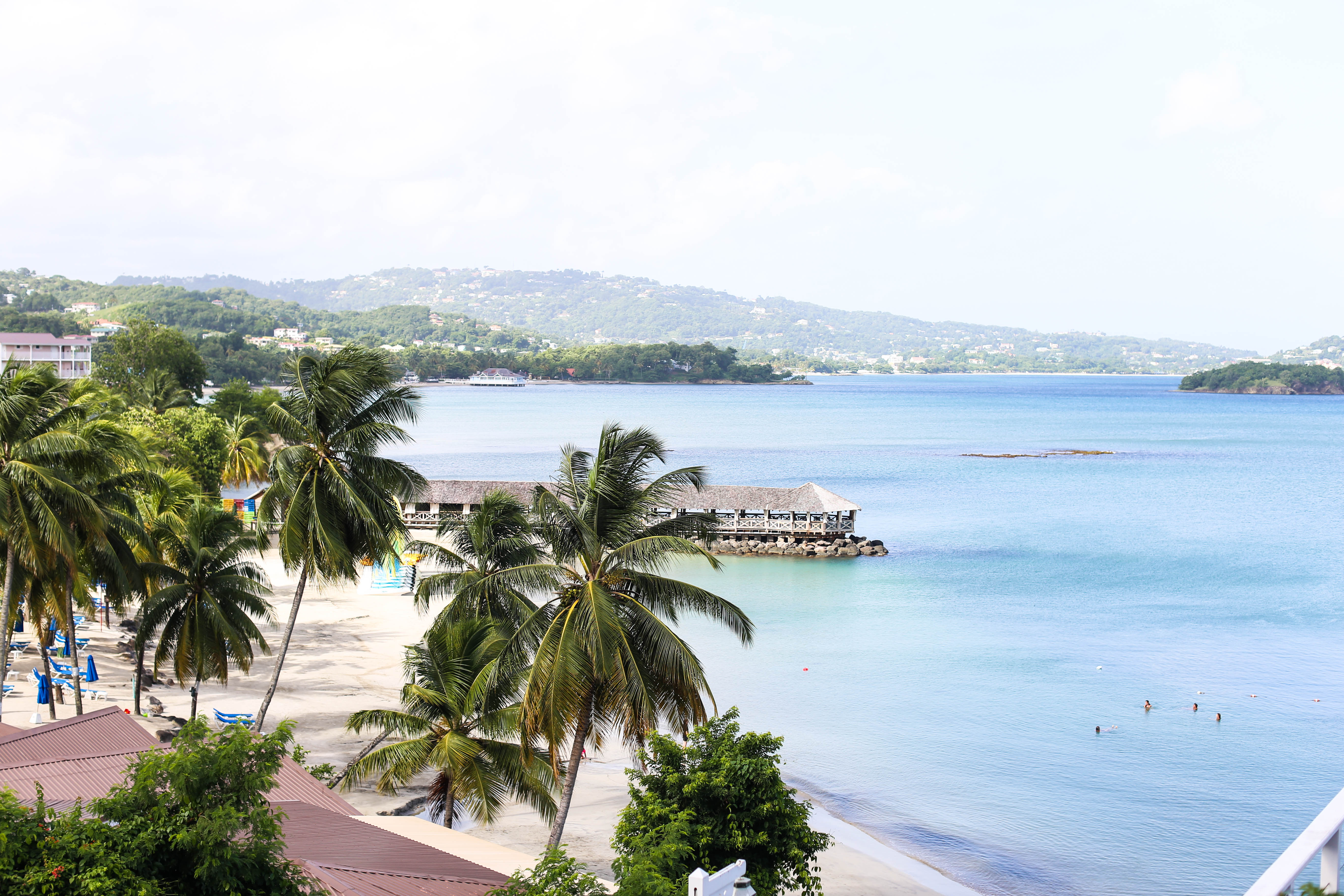 St James Club Morgan Bay St Lucia Vacation Coffee
