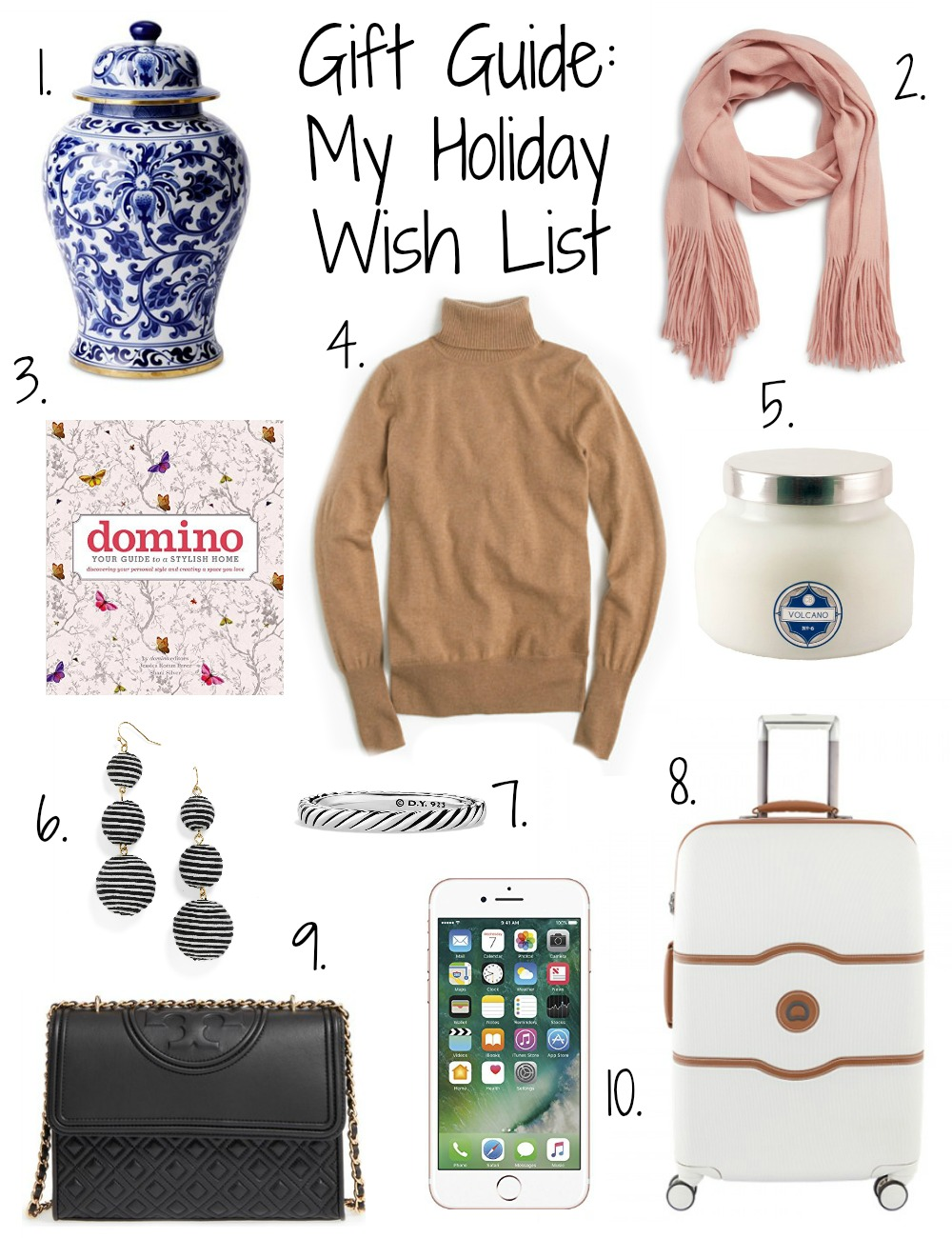 Gift Guide: My Holiday Wish List