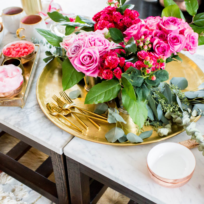 How To: Valentine's Day Inspired Dessert Party Galentine's Day