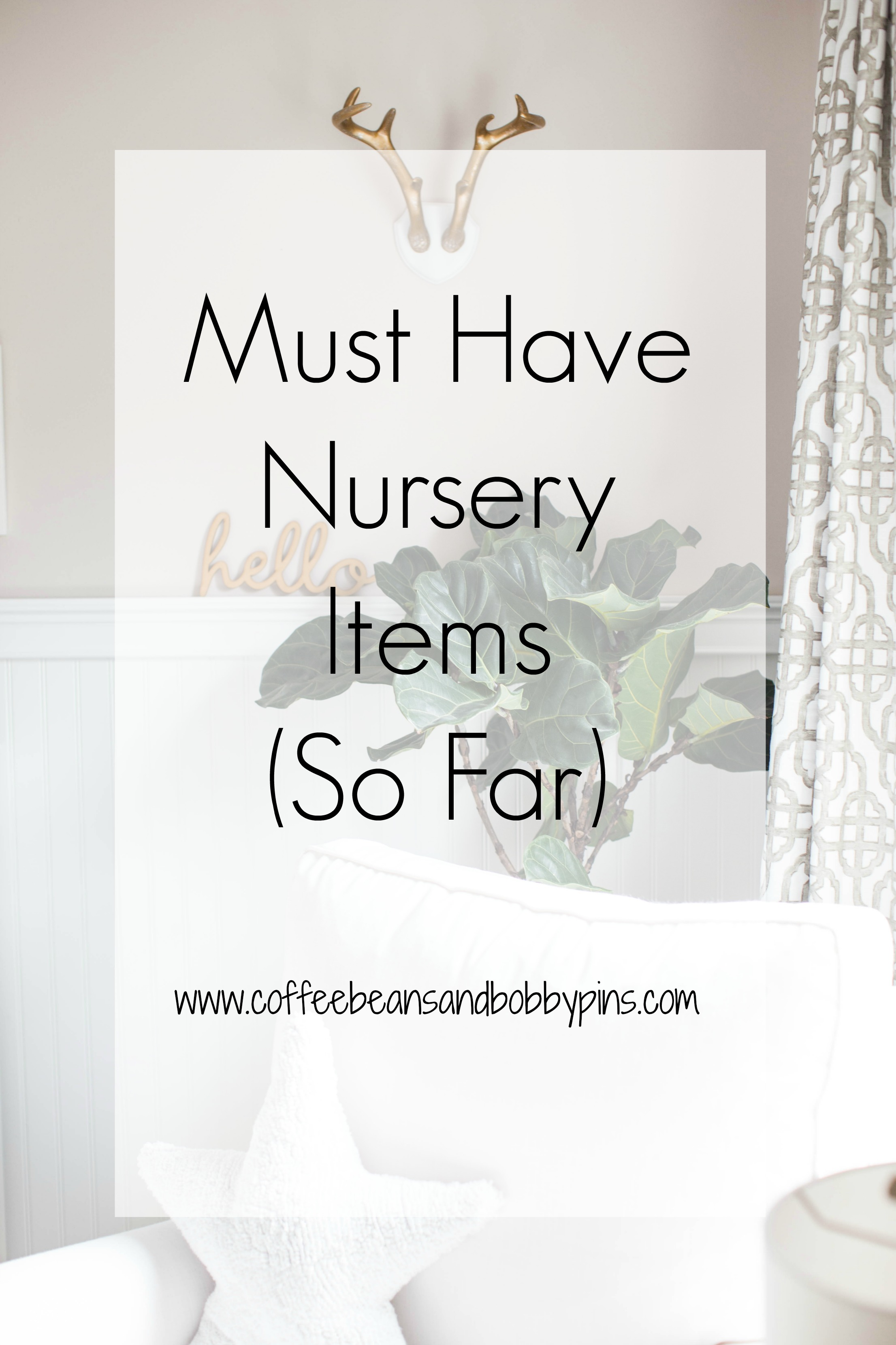 Must Have Nursery Items from Our Amazon Registry by NC lifestyle blogger Coffee Beans and Bobby Pins