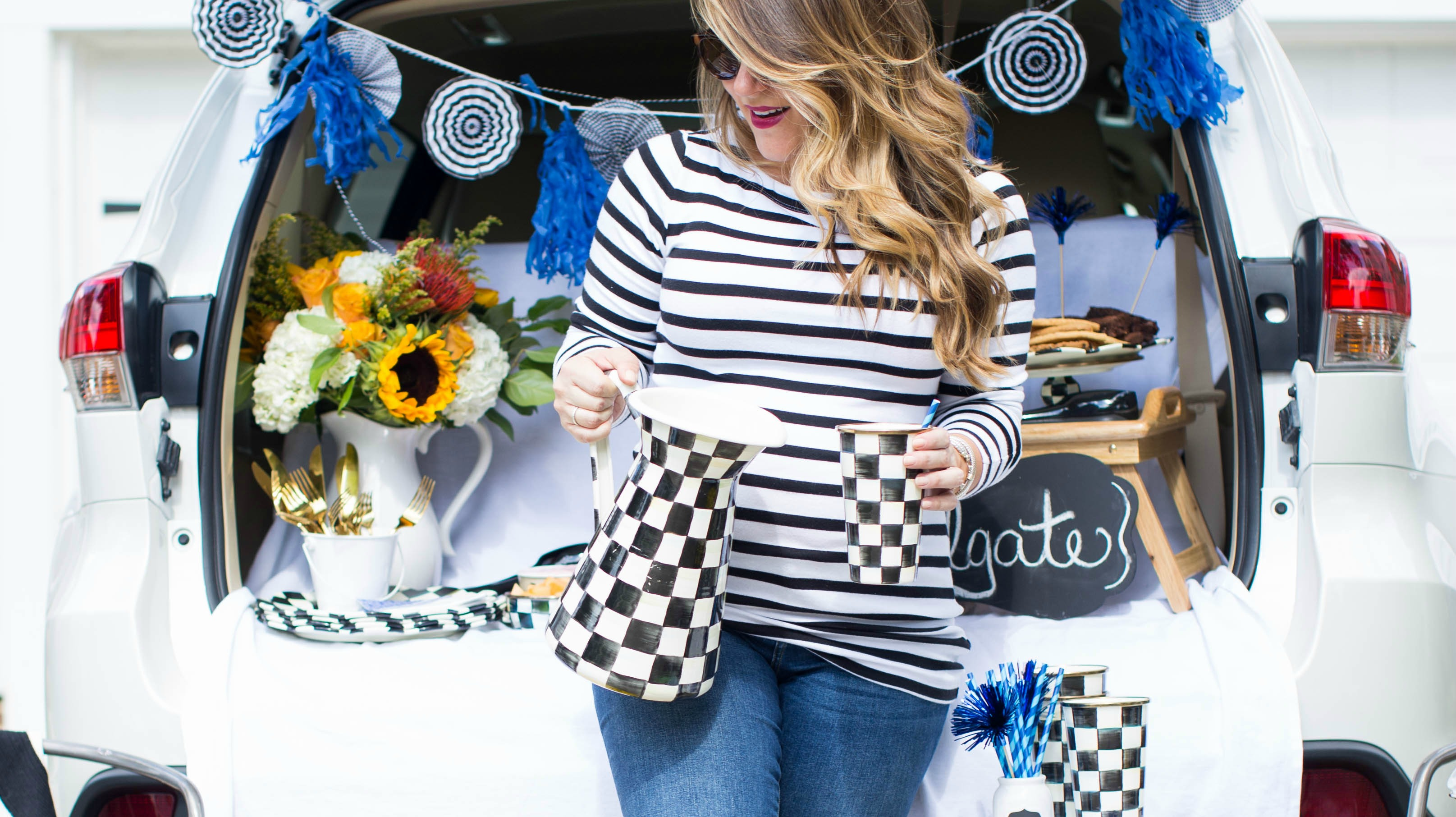 How to: Host a Great Tailgate Party by North Carolina lifestyle blogger Coffee Beans and Bobby Pins